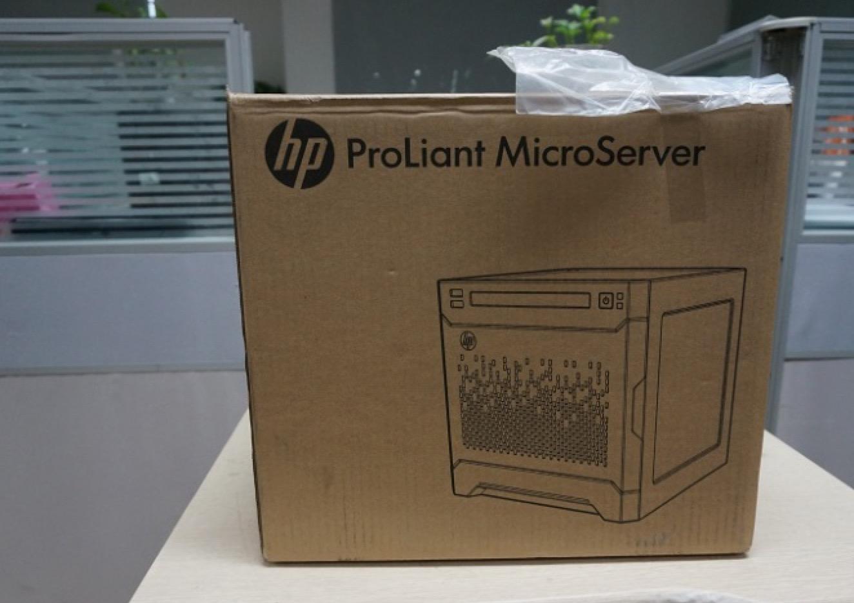 开启HP MicroServer Gen8之旅