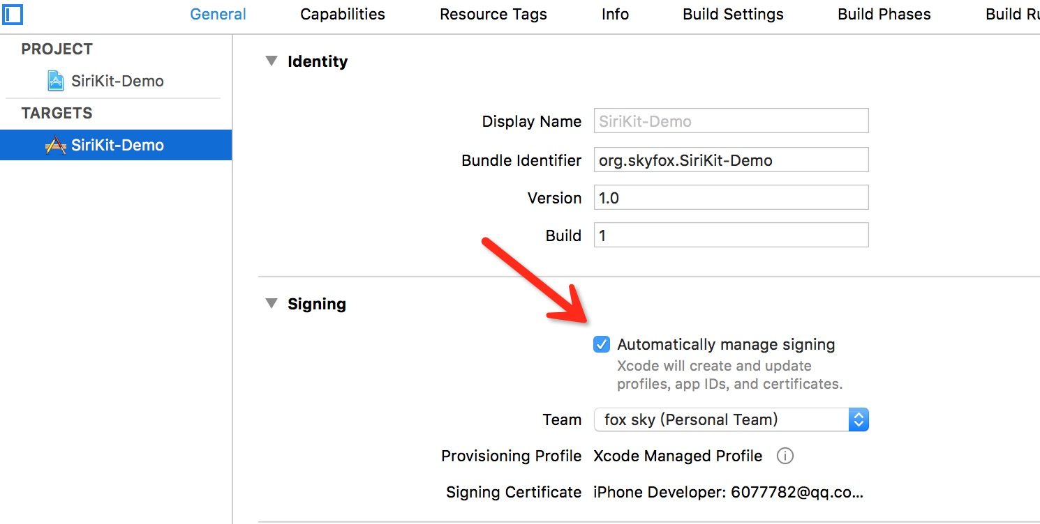 Xcode 8 免证书真机调试