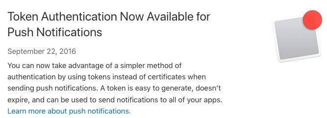 基于HTTP/2与Token的APNs新协议