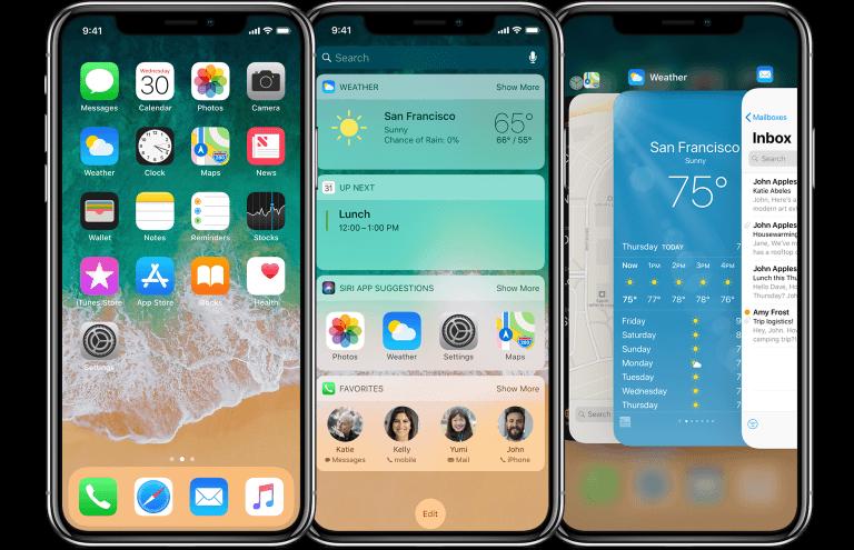 iPhone X(10)屏幕分辨率与适配